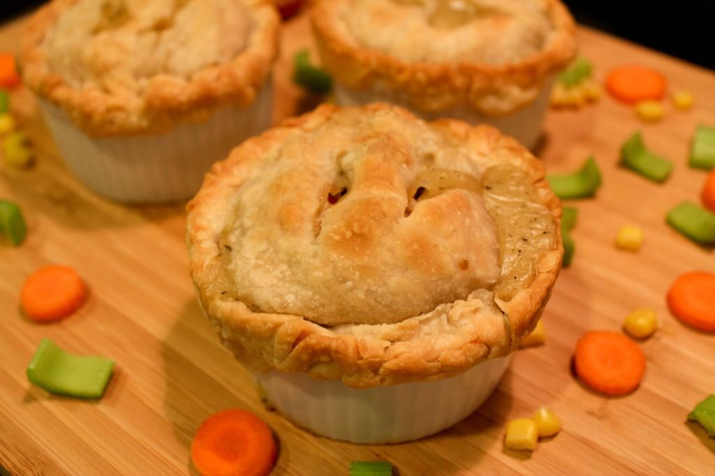 mini chicken pot pies1-2