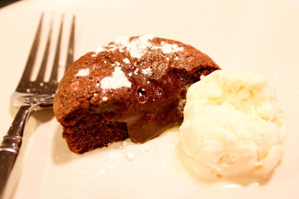 Molten Lava Cake Ice Cream Scoops