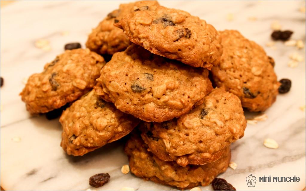 oatmeal raisin cookies-5