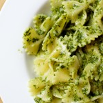 Basil Pesto with Farfalle