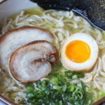 Tori Paitan Ramen – Chicken Bone Broth w/ Fresh Noodles